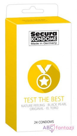 Prezerwatywy Secura Test the Best- 24szt.
