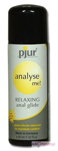 Pjur analyse me! Relaxing silicon anal glide 30
